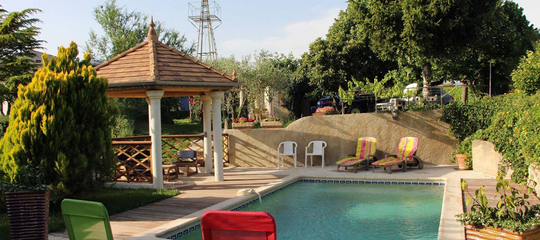chambres d 39 h tes et studio vaison la romaine piscine spa wifi le petit auzon. Black Bedroom Furniture Sets. Home Design Ideas